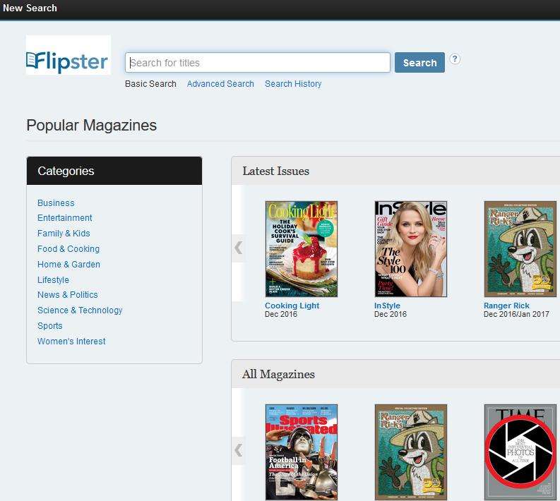 Flipster screenshot