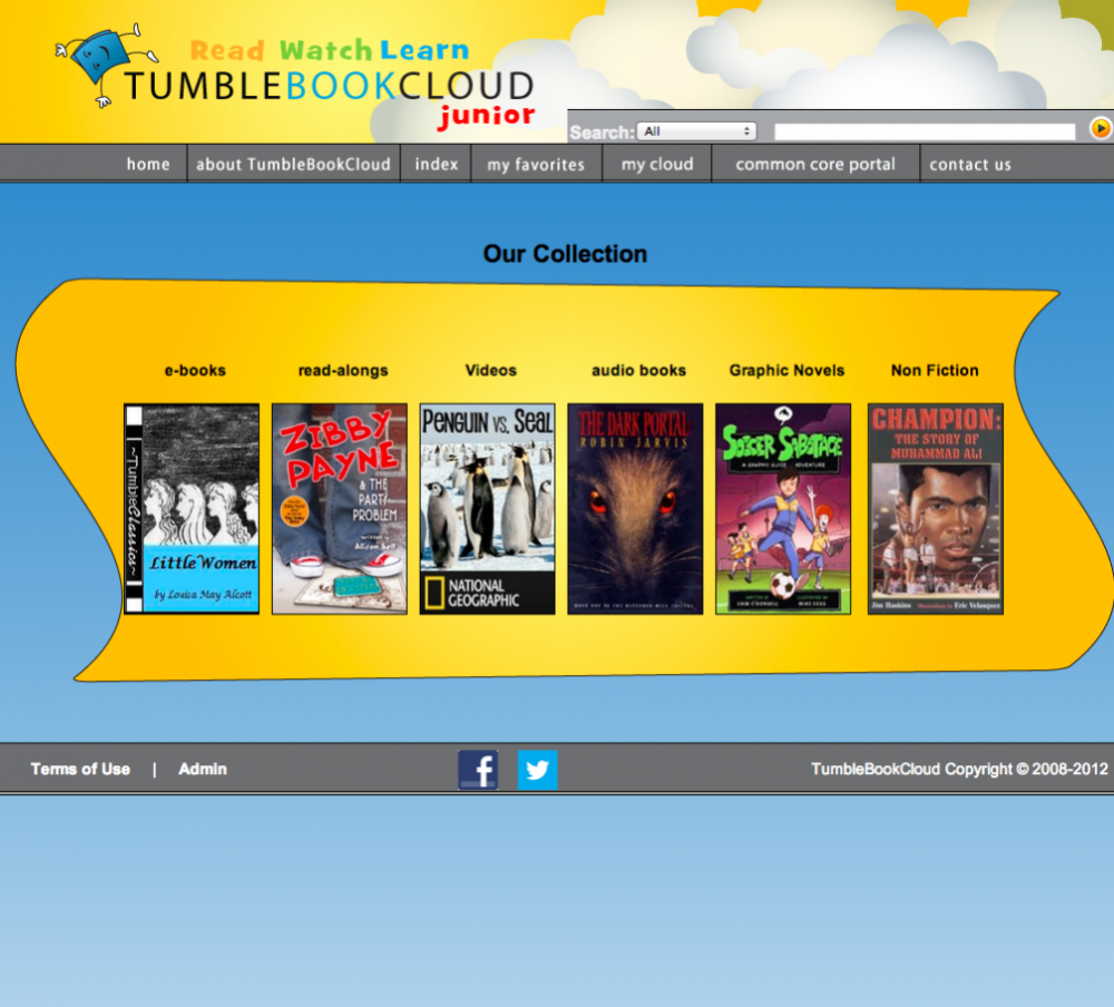 TumbleBookCloud Junior screenshot
